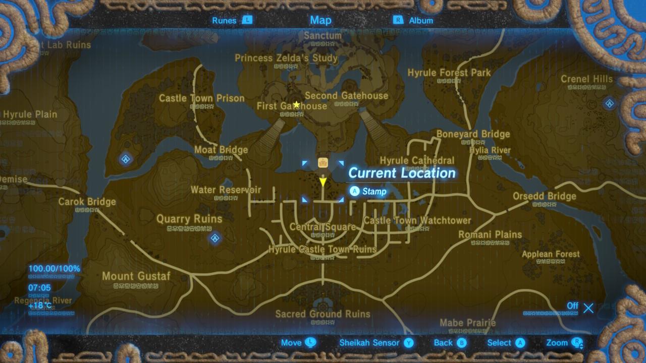 Using Hilbert Curves to 100% Zelda